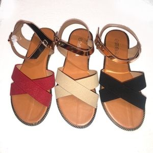 Shoes - CRISSCROSS SANDAL